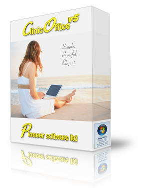 ClinicOffice v5 - Clinic Management Software box