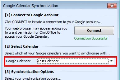 Select Google Calendar Sync